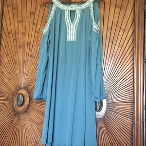 Size XL cold shoulder dress by Time and TRU